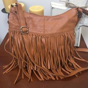 Deb and Dave fringe purse